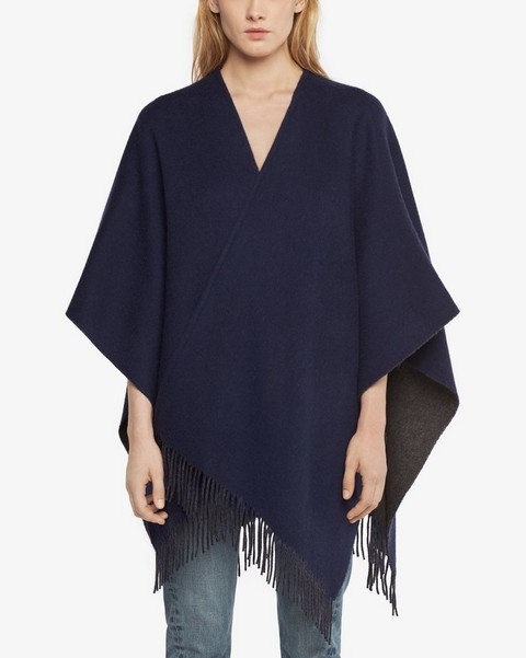 RAG & BONE DOUBLE FACED PONCHO