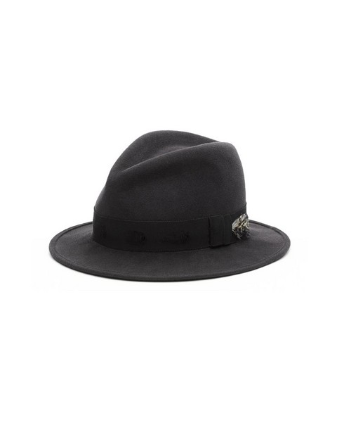 RAG & BONE PINCHED CROWN FEDORA