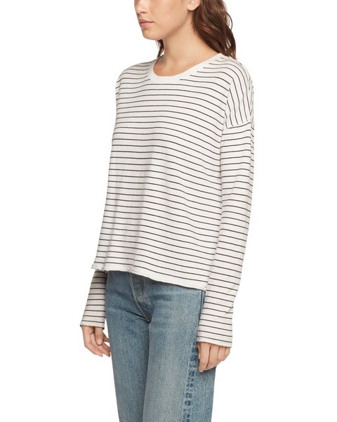 RAG & BONE VINTAGE STRIPE LONG SLEEVE