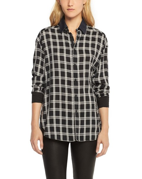 RAG & BONE BOYFRIEND SHIRT - PLAID