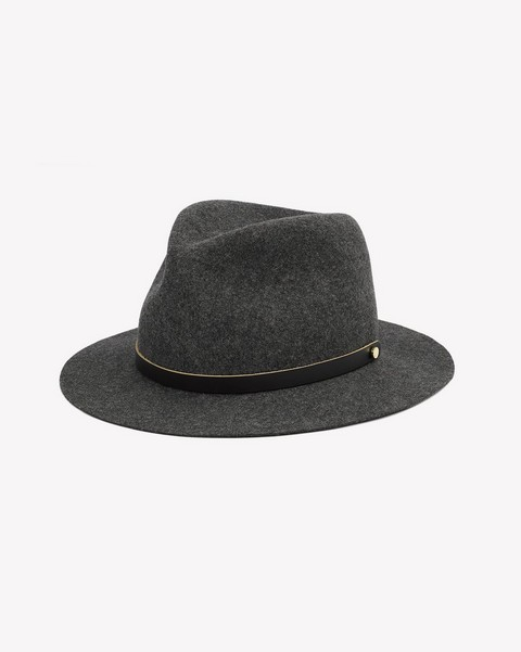 RAG & BONE PACKABLE ABBOTT FEDORA
