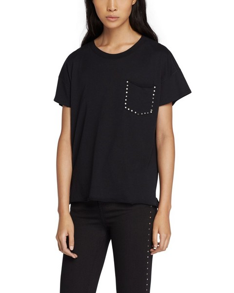 RAG & BONE VINTAGE CREW WITH STUDS