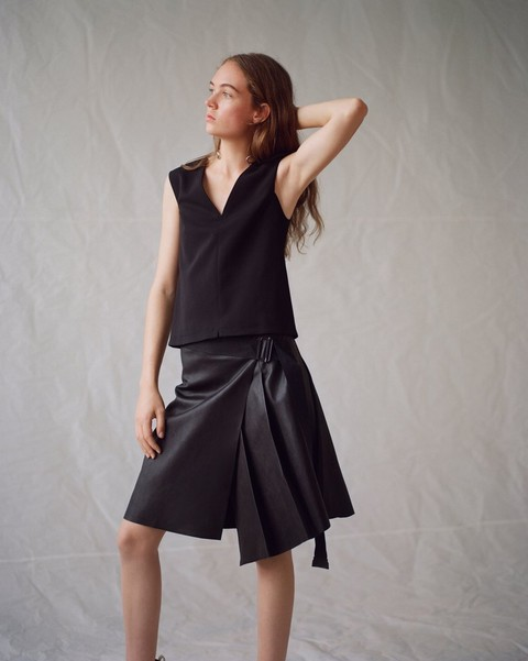 RAG & BONE LENNA leather SKIRT