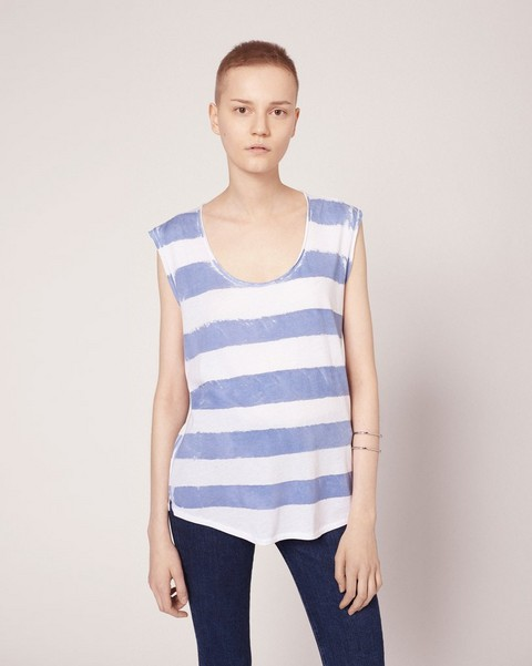 RAG & BONE WASHED STRIPE TANK