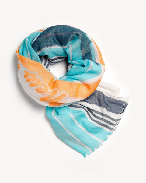 RAG & BONE STRIPED SUNSET scarf