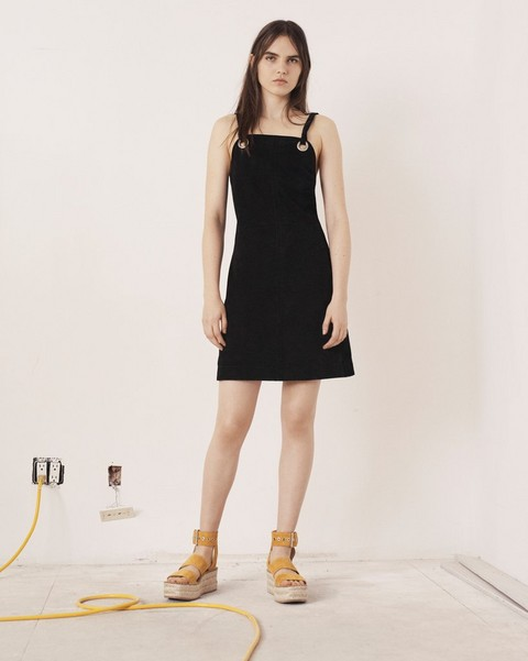 RAG & BONE CROFT SUEDE DRESS