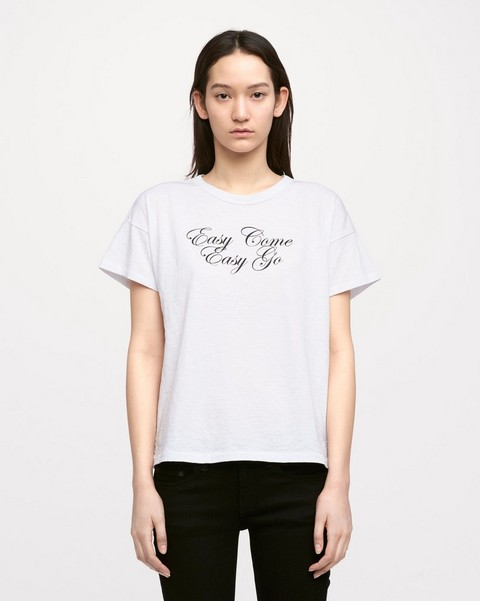 RAG & BONE EASY COME EASY GO TEE