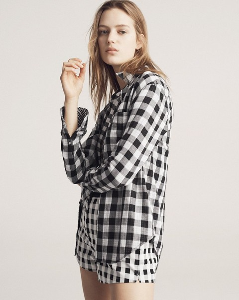 RAG & BONE CLASSIC SHIRT GINGHAM