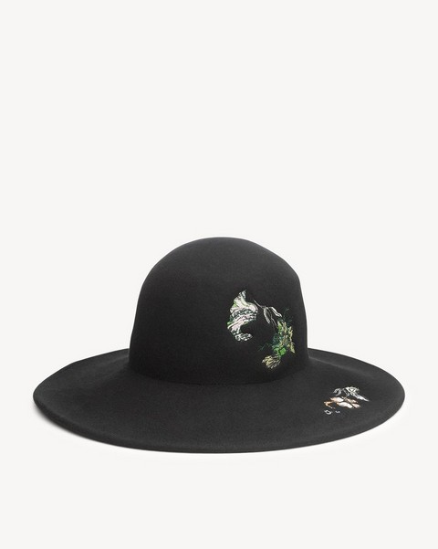 RAG & BONE EMBROIDERED HAT
