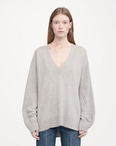 RAG & BONE ACE CASHMERE V-NECK