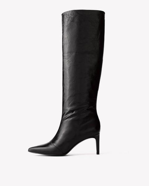 Boots Amp Booties Velvet Amp Ankle Cut To Suede Amp Block Heel