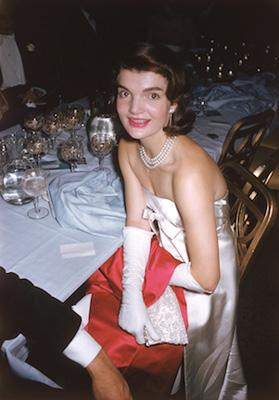 Jacqueline Kennedy at the April in Paris Ball, 1959