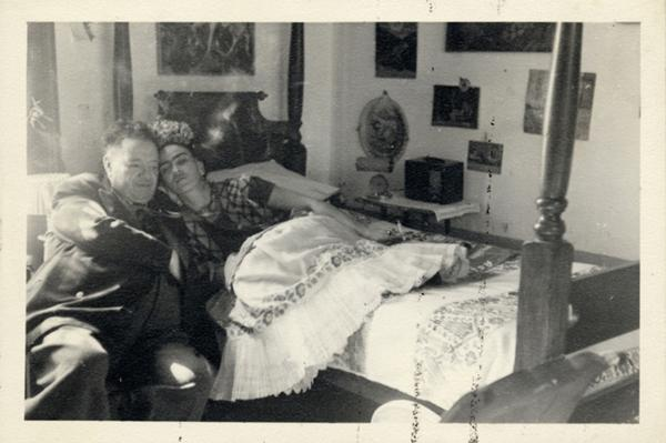 Diego Rivera and Frida Kahlo, Coyoacan, Mexico
