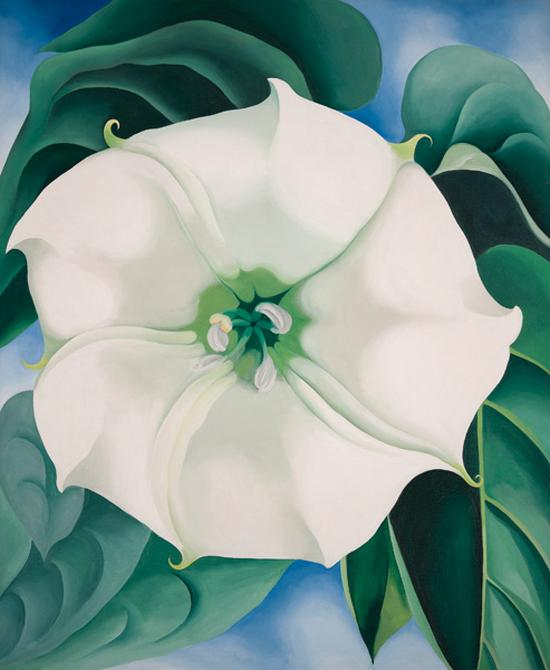rag & bone blog: Georgia O'Keeffe at Tate Modern