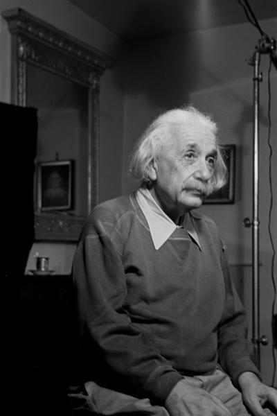 Albert Einstein, Princeton, New Jersey, 1950