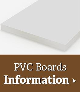 PVC Board Information Sheet