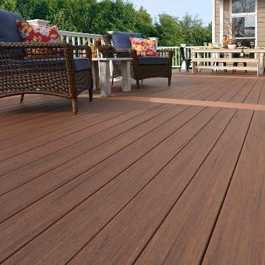 Making sense out of pvc decking stock building supply for Non wood decking material