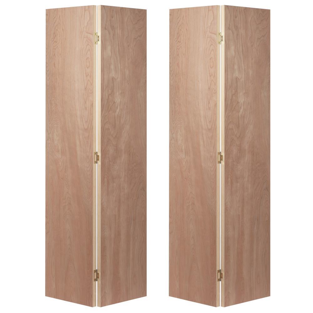 JELD WEN 4 Door Bifold Flush Birch Doors