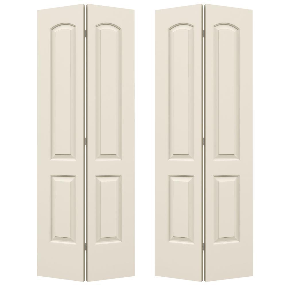 JELD-WEN Continental 2-Panel 4-Door Bifold Doors