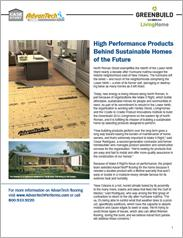 AdvanTech® Flooring Greenbuild Case Study