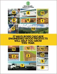 Boise Cascade - 17 Ways that Engineered Wood Products Help You Grow