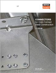 Simpson Strong-Tie® Connectors for Cold-Formed Steel Construction