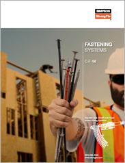 Simpson Strong-Tie® Fastening Systems