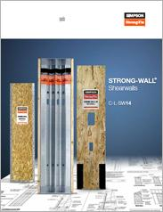Simpson Strong-Tie® Strong-Wall® Shearwalls