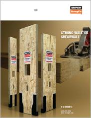 Simpson Strong-Tie® Strong-Wall® SB Shearwall