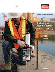 Simpson Strong-Tie® Anchoring and Fastening Systems