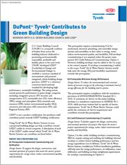 DuPont™ Tyvek® Green Building