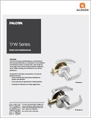 Falcon® T/W-Series Cylindrical Locks