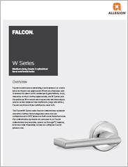 Falcon® W-Series Lever & Knob Locks
