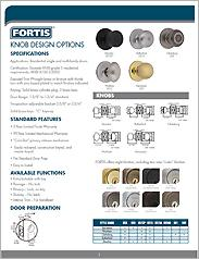 Fortis™ Hardware Specifications