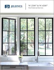 JELD-WEN® W-2500™ and W-4500™ Wood Windows and Patio Doors
