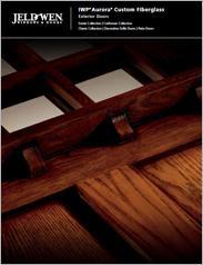 JELD-WEN® IWP® Aurora® Custom Fiberglass Exterior Doors