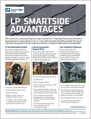 LP® SmartSide® Advantages