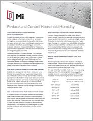 MI Reduce and Control Household Humidity