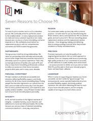 MI - Seven Reasons to Choose MI