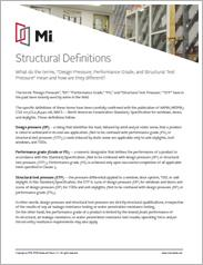 MI Structural Definitions
