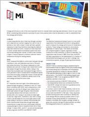 MI Understanding Energy Performance