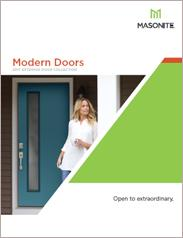 Masonite® Modern Exterior Doors