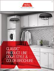 Merillat Cabinetry Classic Line Door Style & Color Brochure
