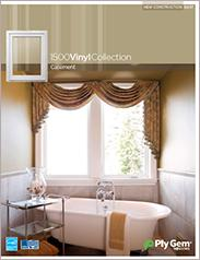 Ply Gem® 1500 Vinyl Collection Casement Windows Spec Sheet - East