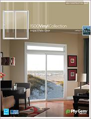 Ply Gem® 1500 Vinyl Collection Impact Patio Doors Spec Sheet - East