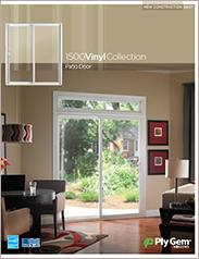 Ply Gem® 1500 Vinyl Collection Patio Doors Spec Sheet - East