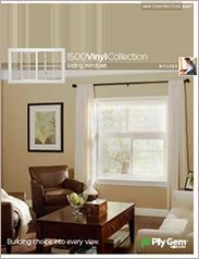 Ply Gem® 1500 Vinyl Collection Sliding Windows Spec Sheet - East