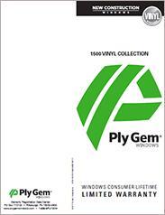 Ply Gem® 1500 Vinyl Window Collection Warranty