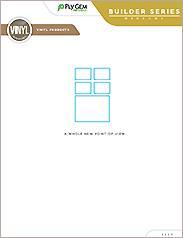 Ply Gem Builder Series Vinyl Windows - East