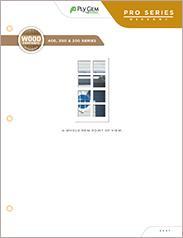 Ply Gem Pro Series Wood Composite Windows - East